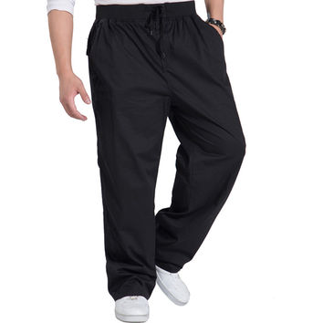 mens joggers loose harem sweatpants