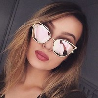 Ladies Stylish Fashion Sunglasses [45271580697]