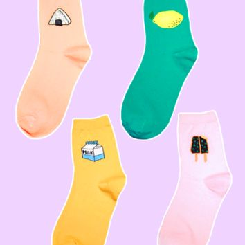 I love Food Socks
