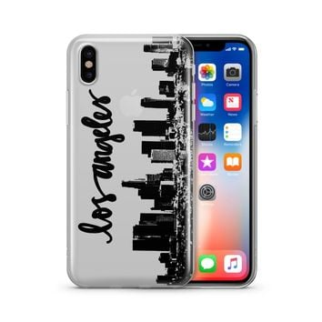 LA Skyline - Clear Case Cover