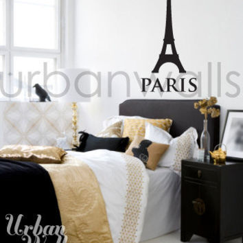 Vinyl Wall Sticker Decal Art - I Dream of Paris
