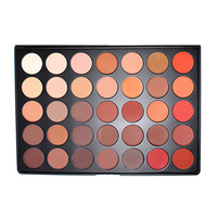 Morphe 35OM Matte Nature Glow Eye Shadow Palette