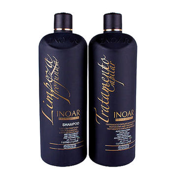 INOAR  ORIGINAL BRAZILIAN KERATIN  MOROCCAN TREATMENT (120ml) 4.1oz  KIT FRACTIONAL SALE.