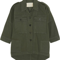 Band of Outsiders - Field cotton-twill jacket