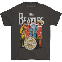 Beatles Men's  Sgt. Pepper T-shirt Grey