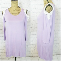 MY EVERYTHING TUNIC IN LAVENDER