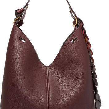 Anya Hindmarch - Bucket small textured-leather tote