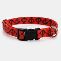 Anchors Aweigh Dog Collar