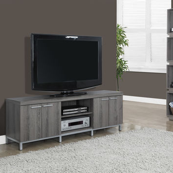 "Dark Taupe Reclaimed-Look 60""L TV Console"