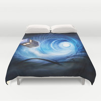 Doctor Who Duvet Cover by Joe Roberts