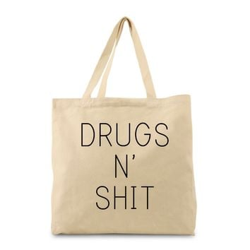 Drugs N' Shit Tote