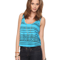 Cropped Geo Tank | FOREVER21 - 2000018365