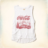 Coke Logo Graphic Tank