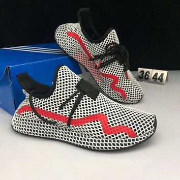 Adidas DEERUPT RUNNER Air permeable and cushioning jogging shoes