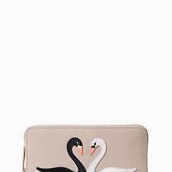 on pointe swan applique lacey | Kate Spade New York