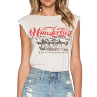 Wanderlust Road Trippin' Tee in White
