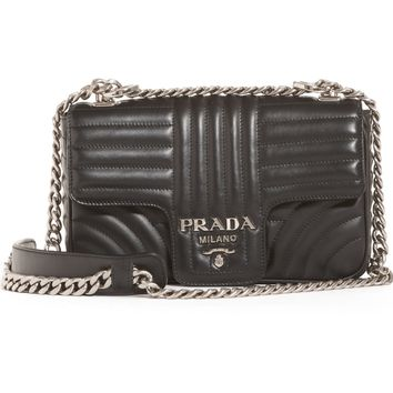 Prada Small Quilted Leather Shoulder Bag | Nordstrom