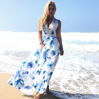 Sweet Anne Floral Maxi Dress