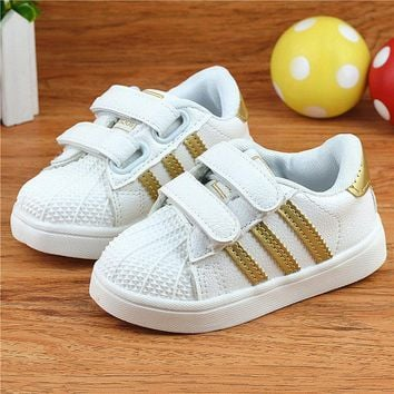 Girls Outdoors Shoes Sport Soft Bottom Rubber Breathable EU21-36