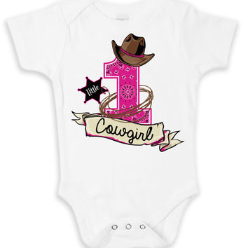 Little Cowgirl Onesuit