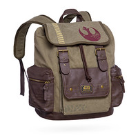 Rebel Canvas & Vegan Leather Backpack