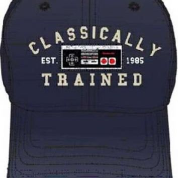 Nintendo Classically Trained Navy Blue Adjustable Adult Baseball Hat Cap - Nintendo - | TV Store Online