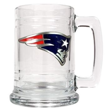 Personalized NFL Emblem Mug - New England Patriots