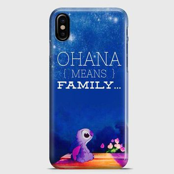 Lilo And Stitch iPhone X Case