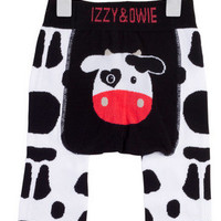 Black and White Cow Leggings