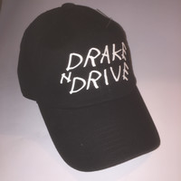 Drake N Drive Adjustable Strapback Dad Hat NWT
