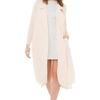 Makin' Plans Beige Trench Coat