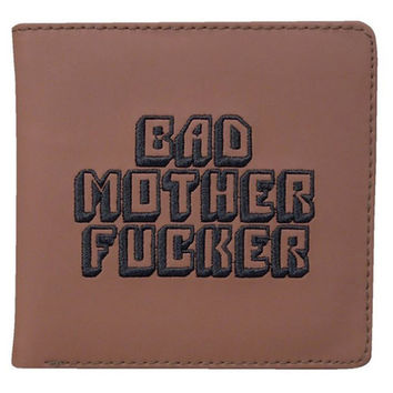 Pulp Fiction Bad Mother F*cker Mofo Text Wallet