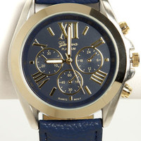 Watch It! Navy Blue Watch