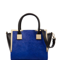 Mini exotic base trapeze bag - Bright Blue | Bags | Ted Baker ROW