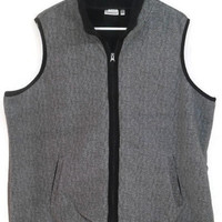 Women's Vest - Croft & Barrow Fleece Vest - Gray Comfortable Vest - Knit Warm Vest - Women Soft Vest - Women's Winter Vest - Sz 2X