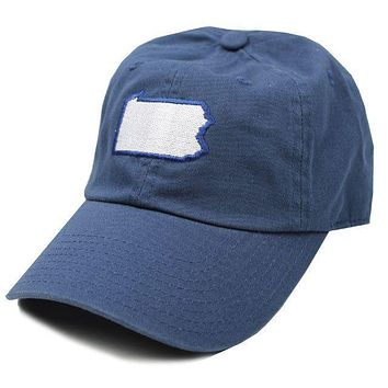 PA Happy Valley Gameday Hat in Navy by State Traditions