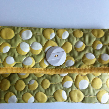Bright Floral quilted Kindle E-Reader Clutch