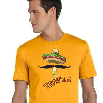 4afbb8e5 Tequila Shirt, Unisex Style, Jersey Tee, Mexico Shirt, South of