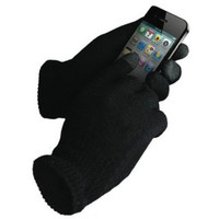IGlove Unisex Touch Screen Knit Glove Hand Warm for iPhone smartphone one size = 1958089796
