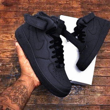 NIKE Women Men Running Sport Casual Shoes Sneakers Heudauo high tops  BLACK HIGH QUALITY