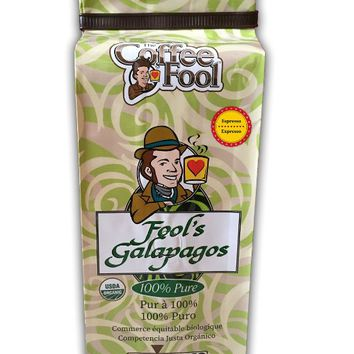 The Coffee Fool Espresso, Fool's Organic Galapagos, 12 Ounce