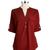 Ivanka Trump Three Button Blouse