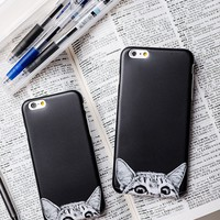 Nosey Cat iPhone Case