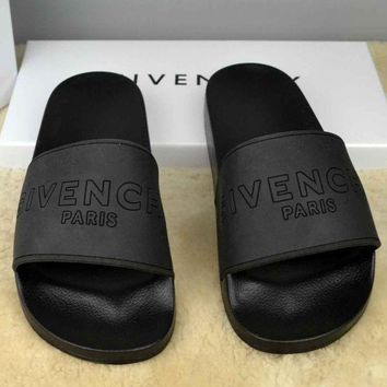 Black GIVENCHY Slippers Sandals