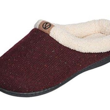 Roxoni Cozy Warm Sweater Knitted Glitter Slipper Luxury Style with Rubber Sole