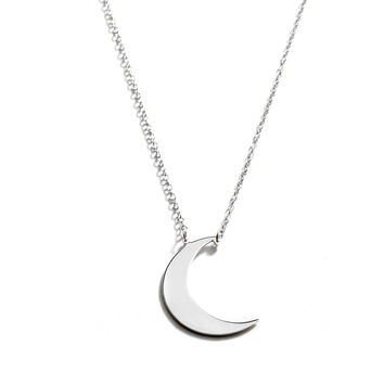 Moon (Crescent) Necklace
