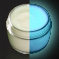 BLUE Glow in the Dark Paint Daytime Invisible Range 30ml