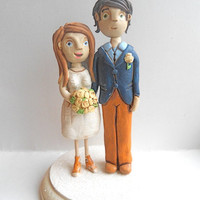 Custom Wedding Cake Topper Sculpture