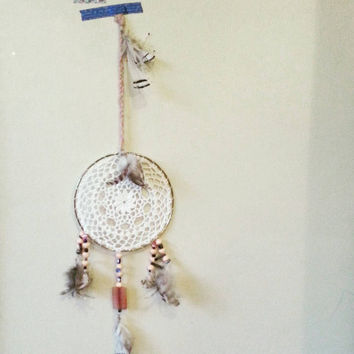 Dream Catcher, Evil Eye Beads, Gift for him, Gift for her, bohemian, bedroom decor ideas, Home and Living, Boho, Home Decor Ideas, Wall Art