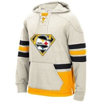 Pittsburgh Winter New Designs Steelers Fans Superman S Logo Stitching Sweatshirt, Custom Any Name And Number Hoodies Pullover